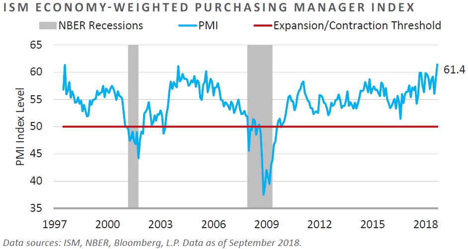 ISM Economy-Weighted Purchasing Manager Index